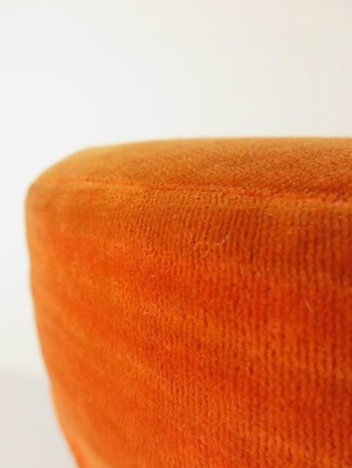 Bild 4 von 70er Hocker Orange