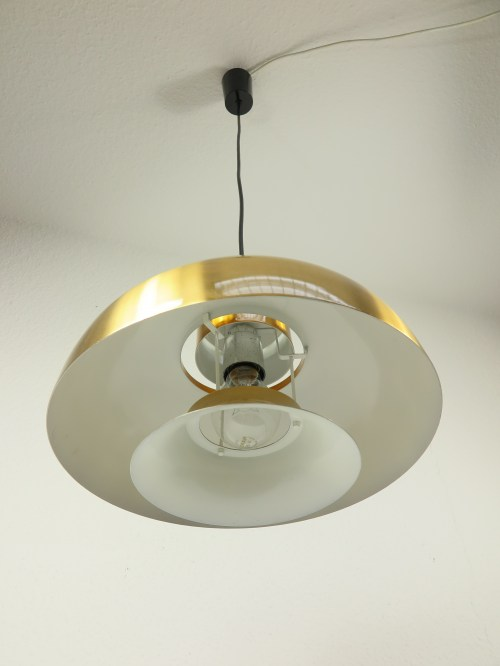 Bild 3 von 70er Lampe Aluminium