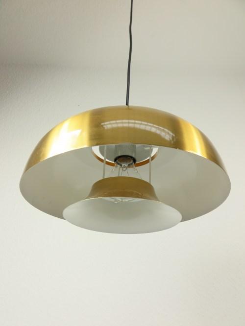 Bild 4 von 70er Lampe Aluminium