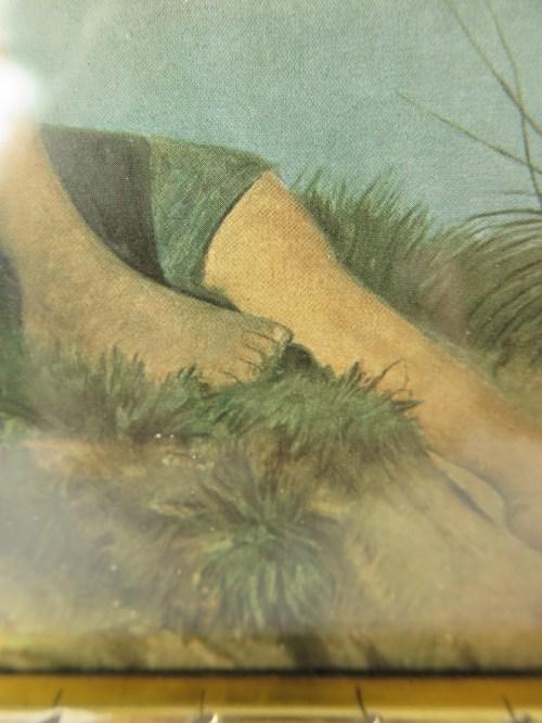 Bild 3 von 20er Bild Jüngling, mit original Rahmen