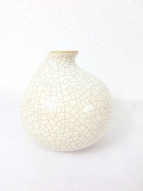 Bild 1 von 50er Vase mit Goldrand