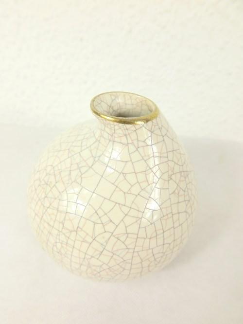 Bild 2 von 50er Vase mit Goldrand