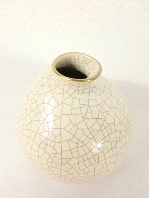 Bild 3 von 50er Vase mit Goldrand