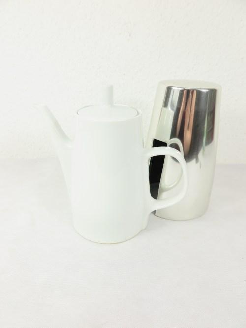 Bild 2 von 60er Kaffekanne Mellitta mit Wärmehaube
