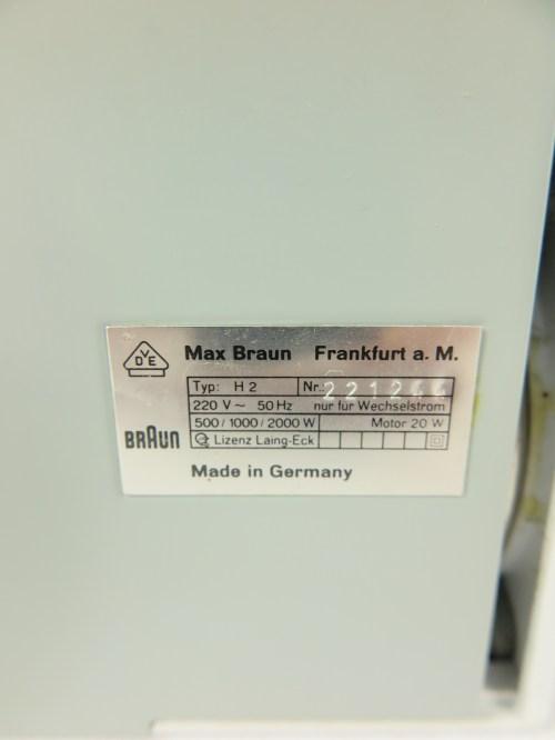 Bild 5 von 80er Mini Heizlufter Braun
