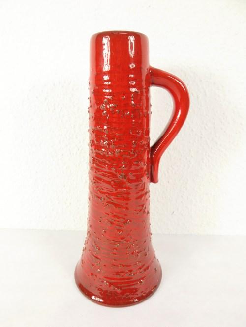 Bild 1 von 70er Künstler Vase mit Henkel