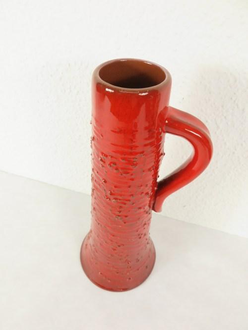 Bild 2 von 70er Künstler Vase mit Henkel
