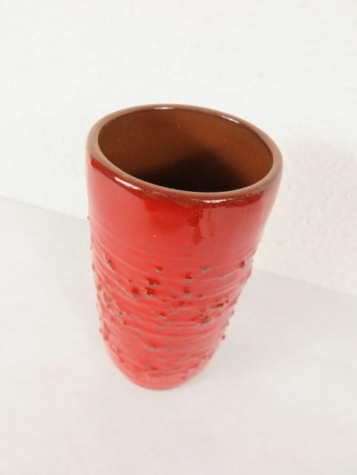 Bild 2 von 70er Vase Ton-Keramik