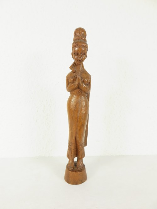 Bild 1 von 70er Holzfigur