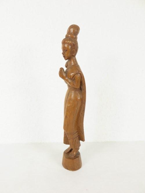 Bild 2 von 70er Holzfigur