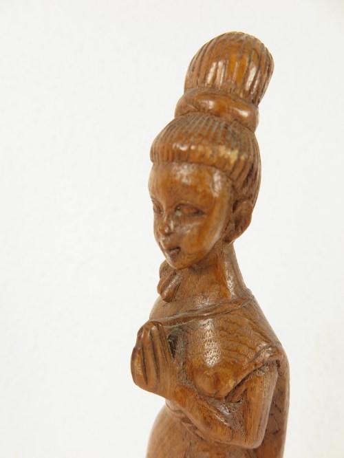 Bild 4 von 70er Holzfigur