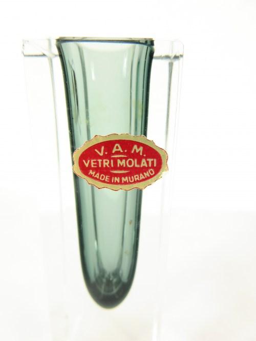 Bild 5 von 60er Murano Vase Vetri Molati