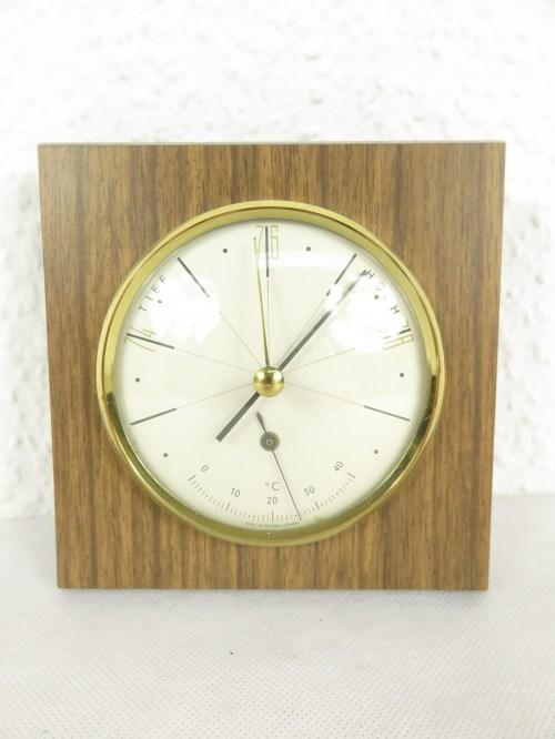 Bild 1 von 70er Barometer mit Thermometer