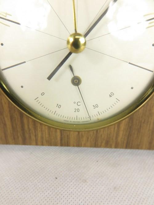 Bild 3 von 70er Barometer mit Thermometer