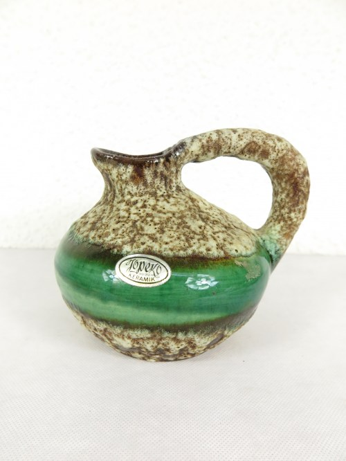 Bild 1 von 70er Vase mit Henkel Jopeko