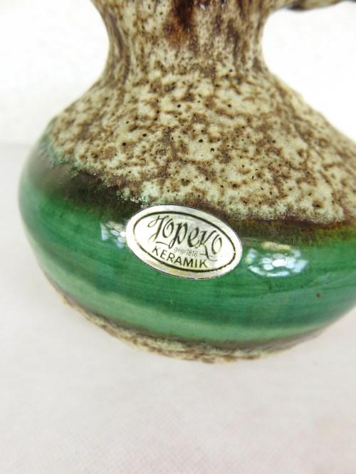 Bild 4 von 70er Vase mit Henkel Jopeko
