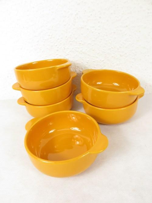 Bild 1 von 70er Suppentassen Orange