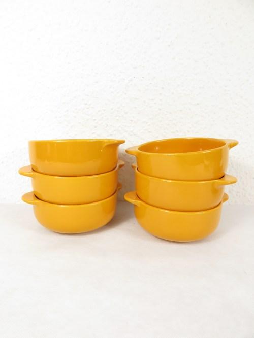 Bild 2 von 70er Suppentassen Orange